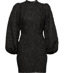 harriet short dress 12905 kort klänning svart samsøe samsøe