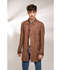 campera marrón prototype mac coat