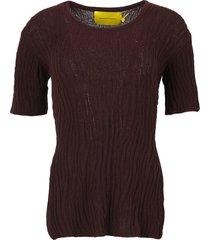open back knit top