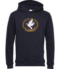 liberty hoodie hoodie trui blauw les deux