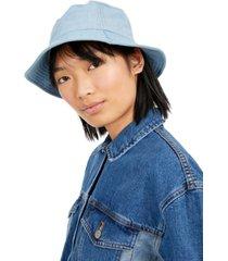 steve madden cotton denim bucket hat