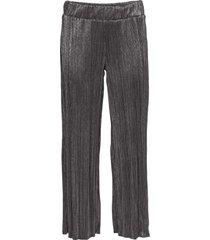 pantaloni lucidi plissettati (argento) - bodyflirt