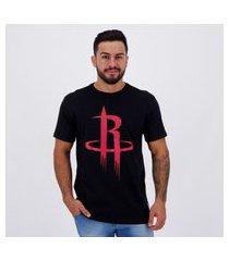 camiseta nba houston rockets preta