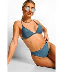 mix & match kleine bikini top, petrol