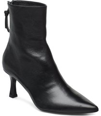 booties 3357 shoes boots ankle boots ankle boots with heel svart billi bi