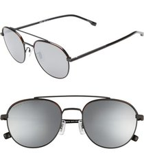 men's boss 55mm round sunglasses -