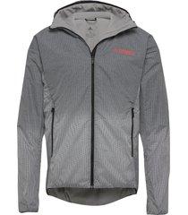 windweave lt j outerwear sport jackets grijs adidas performance