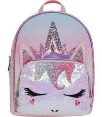 omg! accessories miss gwen ombre sequins mini backpack