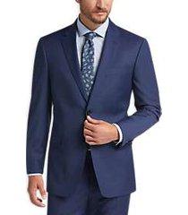 tommy hilfiger blue slim fit suit