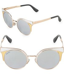 51mm ora round enamel sunglasses