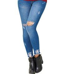jean miley azul para mujer croydon