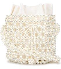 0711 bibi bucket bag - white