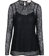 stretch lace t-shirt
