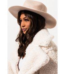 akira boho chic wool felt brim hat