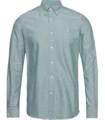 andré button down shirt skjorta business blå morris