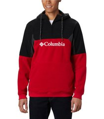 fleece jack columbia lodge ii fleece hoodie