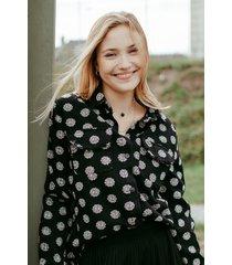 ambika blouse zwart kelly