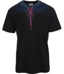 man bezier wings black t-shirt