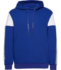 armani exchange sweatshirt hoodie blå armani exchange