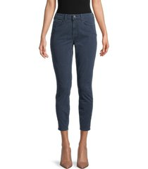l'agence women's high rise skinny jeans - brisk blue - size 24 (0)