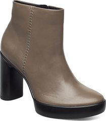 shape sculpted motion 75 shoes boots ankle boots ankle boot - heel grå ecco