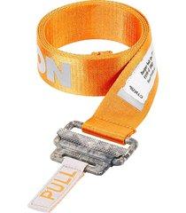 heron preston orange belt