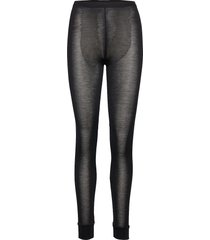 long tights pyjamasbyxor mjukisbyxor svart lady avenue