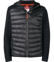 parajumpers hooded puffer jacket - black