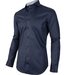 cavallaro cavallaro overhemd navino dark blue