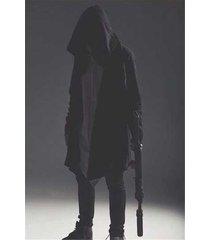 yosinacos unisex assassin's creed darkness cloak hip-hop hoodie cosplay cape