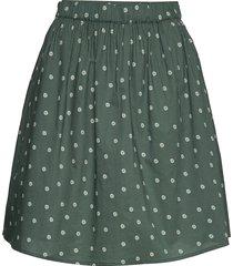 aslaug kort kjol grön gai+lisva