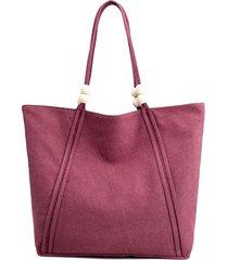 borsa da donna in tela di design borsa borsa spalla di grande capacità borsa