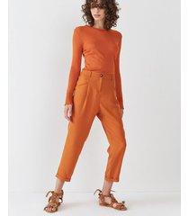 pantalón naranja desiderata wineglass