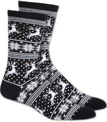 charter club women's finland isles crew socks, created for macy's