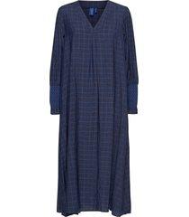 ane dress knälång klänning blå résumé