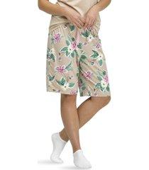 hue floral-print bermuda pajama shorts