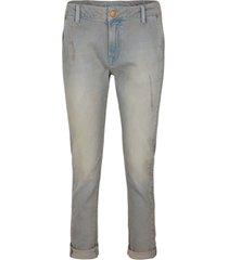 summum 4s2109-5089 824 loose tapered jeans soft cotton grey denim