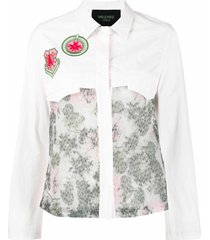 light pink denim shirt for woman