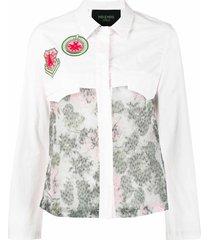 light pink denim shirt for woman