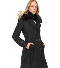 casaco colcci reta preto