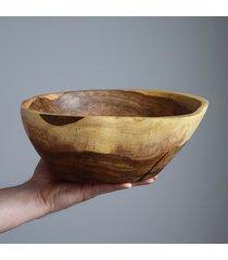 misa z drewna orzecha 23x29 cm