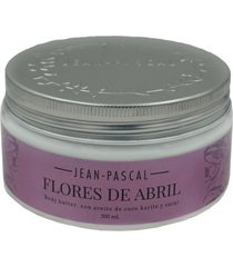 flores de abril body butter jean pascal