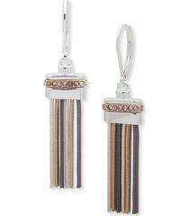 nine west tassel linear earring