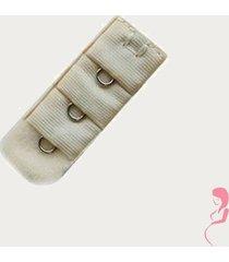 op en top zwanger beha verlenger 1 haaks beige (per stuk)