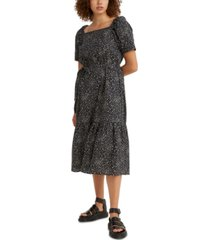 levi's bailey cotton midi dress