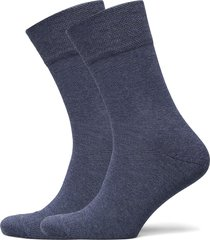 puma men classic piquee 2p underwear socks regular socks blå puma
