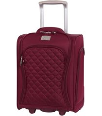 "it girl timeless 17"" lightweight underseater suitcase"