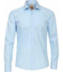 redmond heren overhemd lichtblauw ml7 kent modern fit