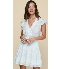 poupette st barth rachel mini dress white