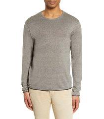 men's rag & bone trent crewneck wool blend sweater